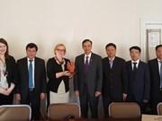 河内市愿同北欧国家加强交流 促进合作