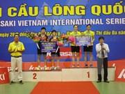 2016年川崎国际羽毛球锦标赛:越南队斩获三金