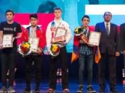 世界青少年国际象棋锦标赛:越南棋手陈明胜摘铜
