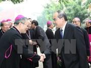 阮善仁同志:哪里有天主教徒,哪里就有爱心、团结、平安与发展