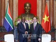越南国家和政府领导会见各国客人(组图)