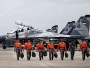 印尼举行大规模空军演习 为应对潜在威胁与各种挑战作出准备