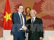 进一步加强越罗两国立法领域的合作