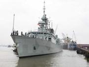 加拿大海军军舰访问胡志明市