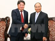 阮春福总理会见蒙古国驻越大使