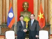 越南国家主席陈大光:致力促进越老互联互通重大项目全面开展