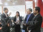 越马两国报纸行业加强经验分享