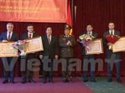 越南向俄罗斯内务部及紧急情况部的培训机构授予友谊勋章