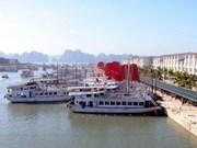 广宁省巡州国际旅游港新建候船厅正式启用