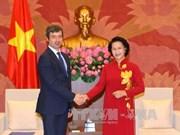 越南国会主席阮氏金银会见意大利司法部部长