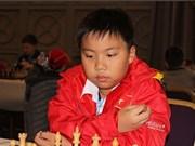 世界青少年国际象棋锦标赛:越南棋手阮国希摘银