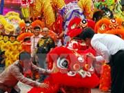 2016年胡志明市第一次麟狮龙舞联欢会在胡志明市举行