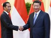 中国对印尼投资增长迅速