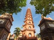 河内西湖镇国寺跻身全球最美寺庙16强