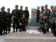 越南广宁省边防部队同中国广西边防部队举行双边边界巡逻活动