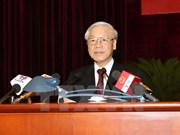 越共中央委员会颁发关于融入国际经济的决议