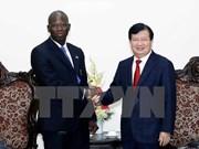 越南政府副总理郑廷勇会见世行驻越南首席代表
