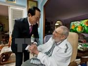 越南国家主席陈大光致电古巴国务委员会主席劳尔·卡斯特罗表示感谢