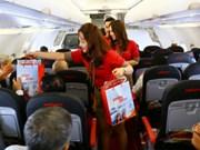 越捷推出30万张特价机票促销活动