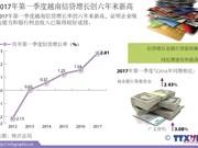 2017年第一季度越南信贷增长创六年来新高