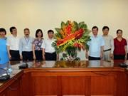 越南革命新闻日92周年:越通社迎接前来祝贺的诸多团体组织代表团(组图)