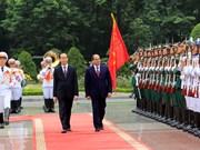 埃及总统阿卜杜勒-法塔赫•塞西对越南进行国事访问