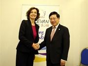 越南政府副总理范平明出席第十七届法语国家组织峰会