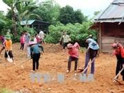 莱州省快速展开灾后重建 力争做好开学准备