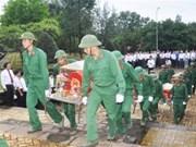 在柬埔寨牺牲的越南志愿军烈士遗骨寻找归宿工作:主动收集信息、尽快开展搜寻
