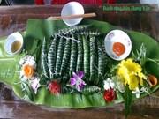 越南兴安省文江县的民间食品——籼米饼