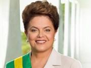 巴西联邦共和国总统迪尔玛•罗塞夫即将对越南进行正式访问