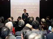 越南政府总理阮晋勇会见法越友好协会秘书长让·皮埃尔·阿尔尚博