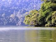 越南北件省三海湖之美