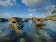 如诗似画的富国岛肯海滩美景