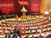 越共第十一届中央委员会第十三次全体会议第一天新闻公报