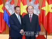 柬埔寨王国参议院主席赛宗访越的相关活动