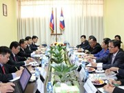 越南通讯社同老挝通讯社加强合作 携手前进