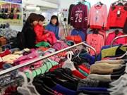 2015年越南服装展销会备受欢迎