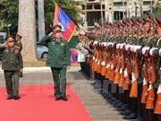 越老两国国防部签署2016年合作计划