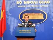 越南坚决反中国在归属越南的长沙群岛十字礁违法建设的机场进行试飞