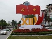 河内市洋溢着浓郁的喜庆气氛 迎接我国政治生活的盛事