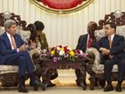 老挝和美国加强双边关系