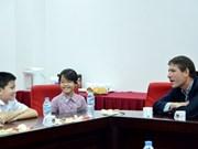 越南芹苴市同英国加强教育合作
