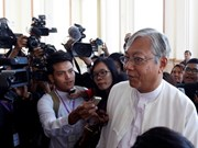 越南国家领导人致电祝贺廷觉当选缅甸联邦共和国总统