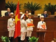 越南首位女国会主席宣誓就职
