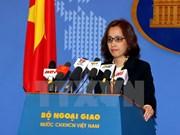 越南外交部副发言人:有关各方应避免采取使北部湾湾口海域局势复杂化的单方面行为