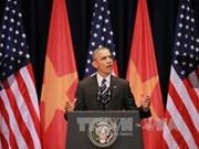 奥巴马总统对越南青年人发表重要演讲(组图)