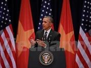 美国总统奥巴马:为美越关系奠定稳固基础