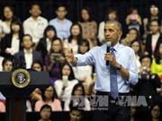 奥巴马与东南亚青年领袖倡议600多名成员举行交流会(组图)