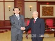 越南党、国家会见来访的外国客人(组图)